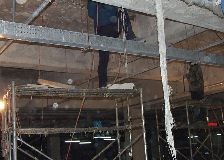地下室顶板漏水补漏方案及工程报价