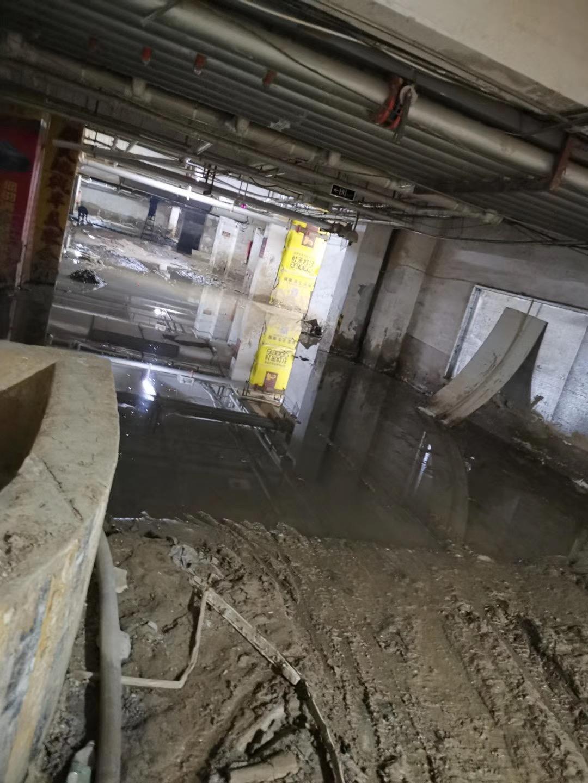 某住宅小区地下室堵漏工程
